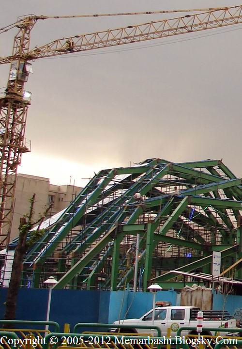 مسجدی دیکانستراکشن و با مفهوم در تهران