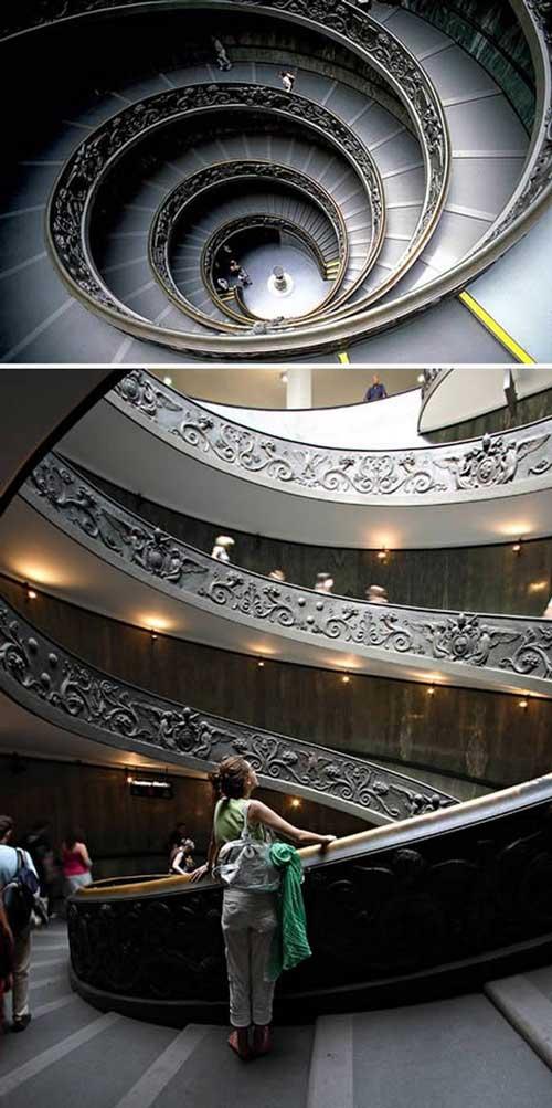 حیرت انگیزترین پلکان های جهان
